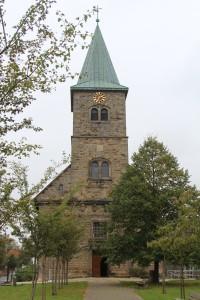 Petruskirche - Haupteingang