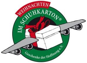 Weihnachten im Schuhkarton - Logo