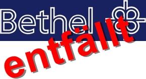 Die Bethelsammlung ist für dieses Jahr abgesagt